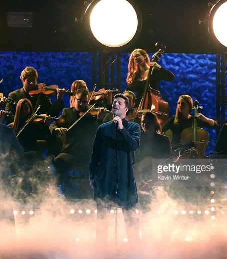 Ricky Martin at the 16th Latin GRAMMY Awards at the MGM Grand Garden Arena on November 19, 2015 in Las Vegas, Nevada.