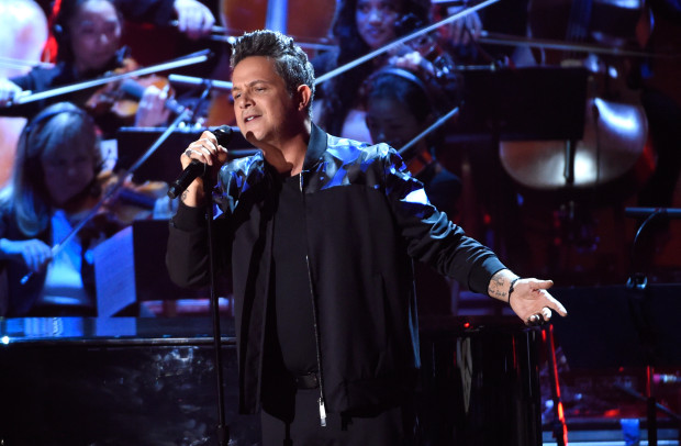 Alejandro Sanz At The Latin Grammy Awards