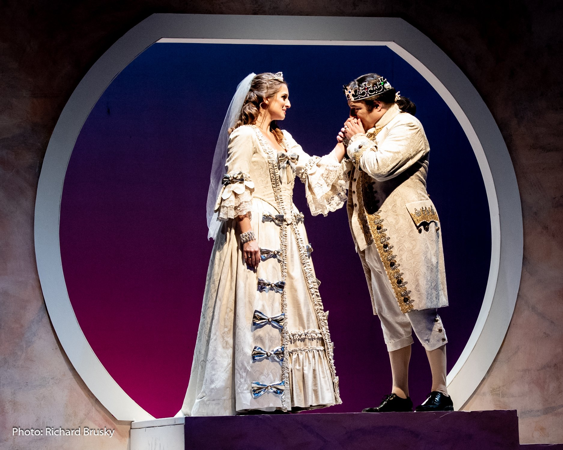 Opera Las Vegas Production Of Rossini's La Cenerentola